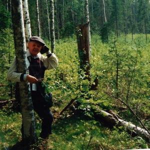 Paul Jansson söker gamla frontlinjer.