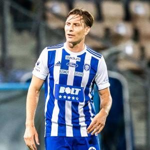 Markus Halsti i HJK 2020.