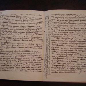 Alfred Nobels testamente.