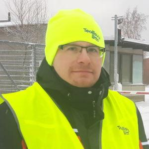 Huvudförtroendeman Petri Partanen på Boliden Kokkola.
