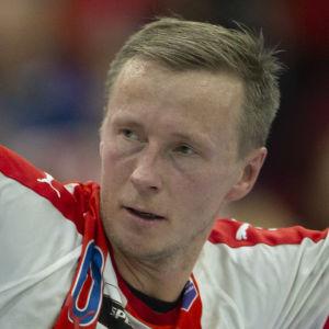 Jac Karlsson jublar i BK-46.