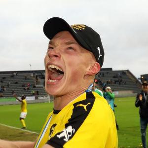 KuPS Ilmari Niskanen firar.