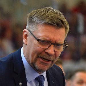 Jukka Jalonen tränar Lejonen, EHT 2019.