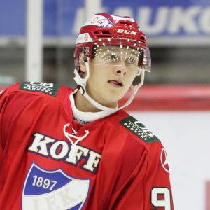 Henrik Borgström i HIFK:s tröja.