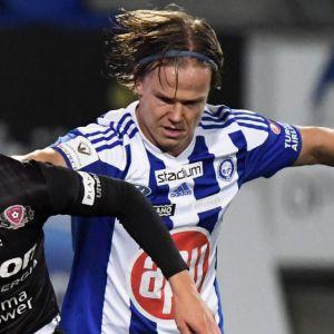 Matti Klinga mot Petteri Forsell.