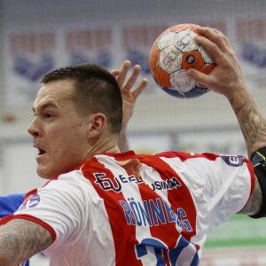 Nico Rönnberg i cupfinalen mot Dicken.