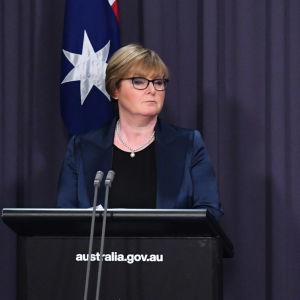 Premiärminister Scott Morrison och försvarsminister Linda Reynolds lamrade allmänheten om cyberattackerna i en presskonferens på fredagen.