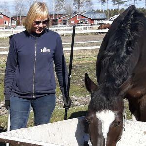 Kvinnor och häst
