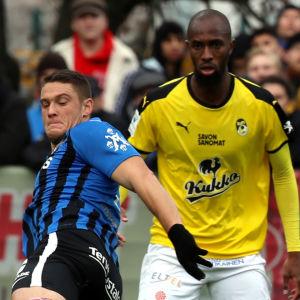 FC inter och KuPS.