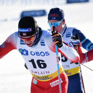 Världscuypen i längdåkning i Falun.