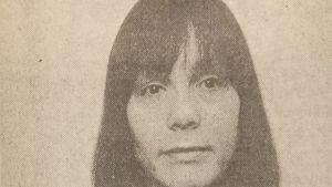 Elina Sana som Elina Suominen i Hufvudstadsbladet 1979.
