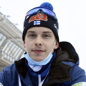 Alexander Ståhlberg i Lahtis 2021.