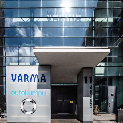 Varman ja Outokummun konttoritiloja Helsingin Salmisaaressa.