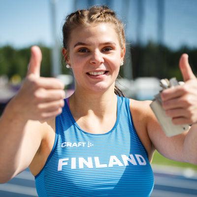 Arkivbild på Kiira Väänänen från 2019.