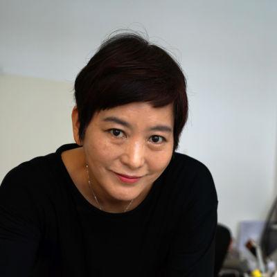 porträtt på Baek Heena.