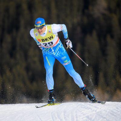 Matias Strandvall misslyckades i världscupkvalet i Falun.