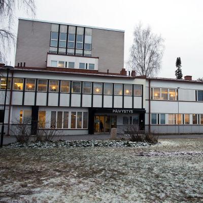 Pieksämäen sairaala joulukuussa 2020.