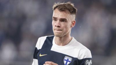 Leo Väisänen i landslaget.