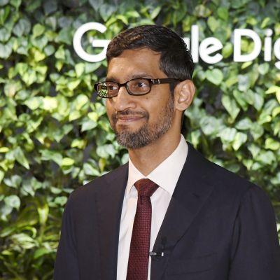 Googles vd Sundar Pichai i Finland.