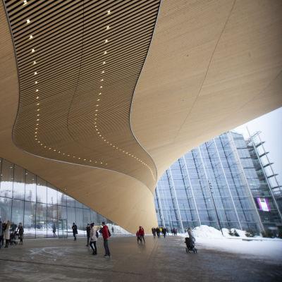 Helsingfors centrumbibliotek fasad