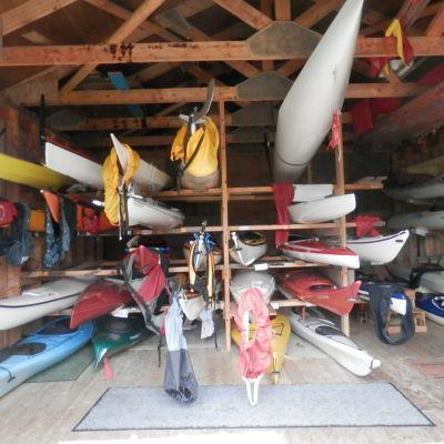 Botnia canoes klubbhus i Jakobstad