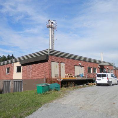 Alheda avloppsreningsverk i Jakobstad