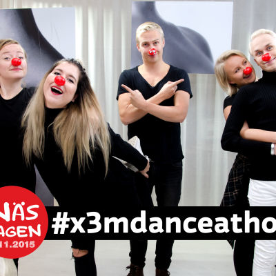 Danceathon under Näsdagen 2015.