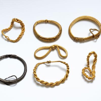Guldskatt från Vikingatiden