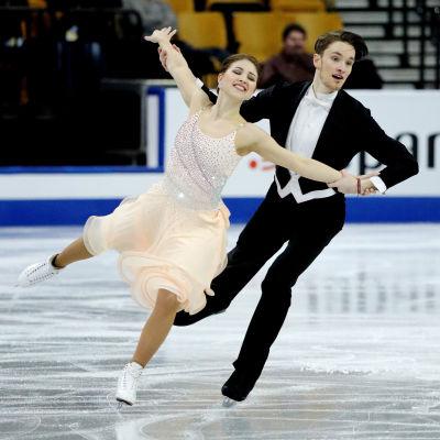 Cecilia Törn och Jussiville Partanen i kortdansen VM i Boston 2016