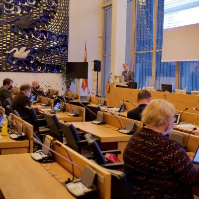 Tampereen kaupunginvaltuuston kokous 16.11.2020
