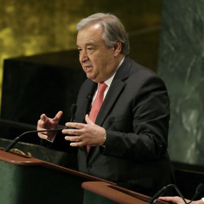 Portugals tidigare premiärminister Antonio Guterres har tagit ledningen i valet om vem som ska bli FN:s nya generalsekreterare.