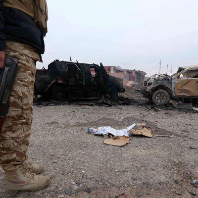 Peshmerga-soldater har satts in för att bekämpa Islamiska staten.