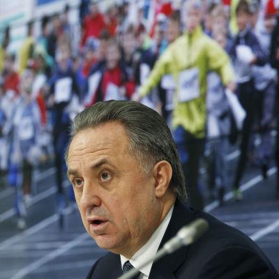 Rysslands idrottsminister Vitali Mutko är kritisk till Wadarapporten.