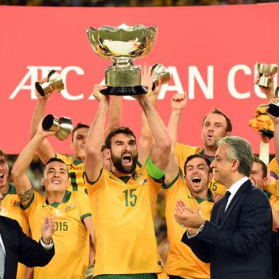 Australien vann de asiatiska mästerskapen på hemmaplan.
