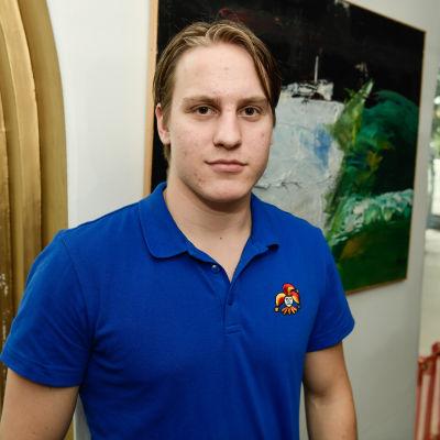 Eeli Tolvanen plays for Jokerit in the KHL in 2017/18.