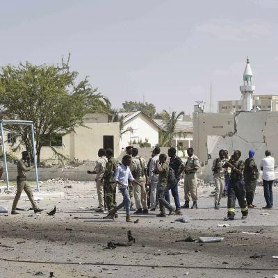 Attack i Mogadishu 22.12.2018.