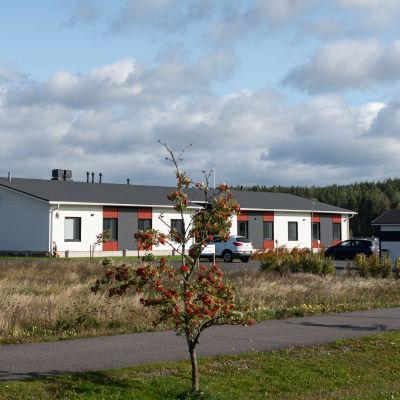 Fastigheten där nya Almahemmet verkar.