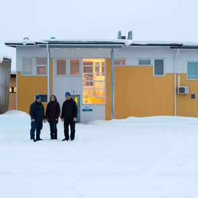 Latitude 66 Cobalt Oy:n kairasydänvarasto Soukkavaarassa Posiolla.