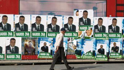 """Det bosnienmuslimska SDA-partiets motto är """"Folket vet"""""""