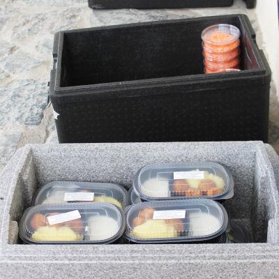 mat i lådor