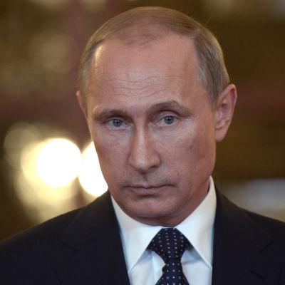 Vladimir Putin i Brasilien 16.7.2014.