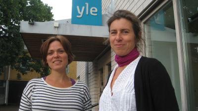 Tove Qvickström och Åsa Salvesen