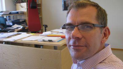 Bildningsdirektör Bob Karlsson i Raseborg
