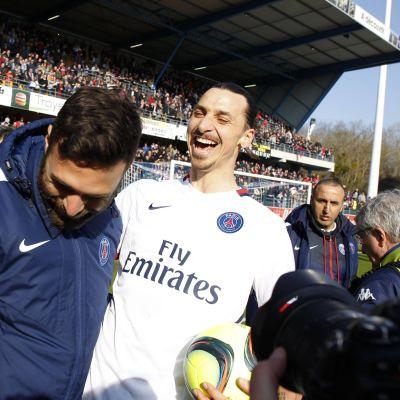 Zlatan Ibrahimovic, mars 2016.