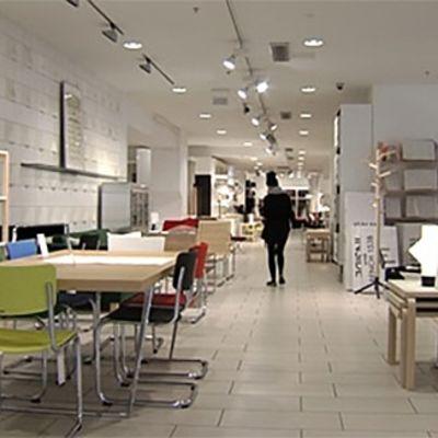 Artekin Helsingin myymälä.