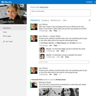 Kuva uudesta Microsoft Officesta.