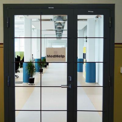 MedHelps kontor i Jakobstad.