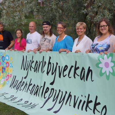 Arrangörerna bakom Nykarlebyveckan.