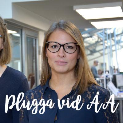 Vilja Luomala och Sarah Lehtinen