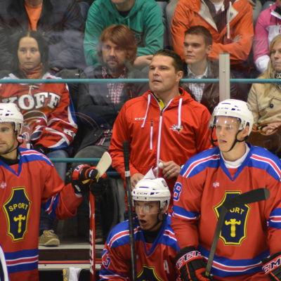 Tomek Valtonen lotsar Vasa Sport i ligan.